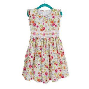 Iris & Ivy Girl's Dress 5 Floral Sleeveless